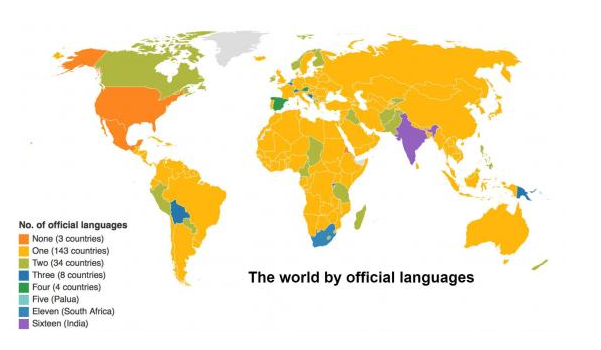 These Countries Have The Most Official Languages World Economic - Languages spoken by country