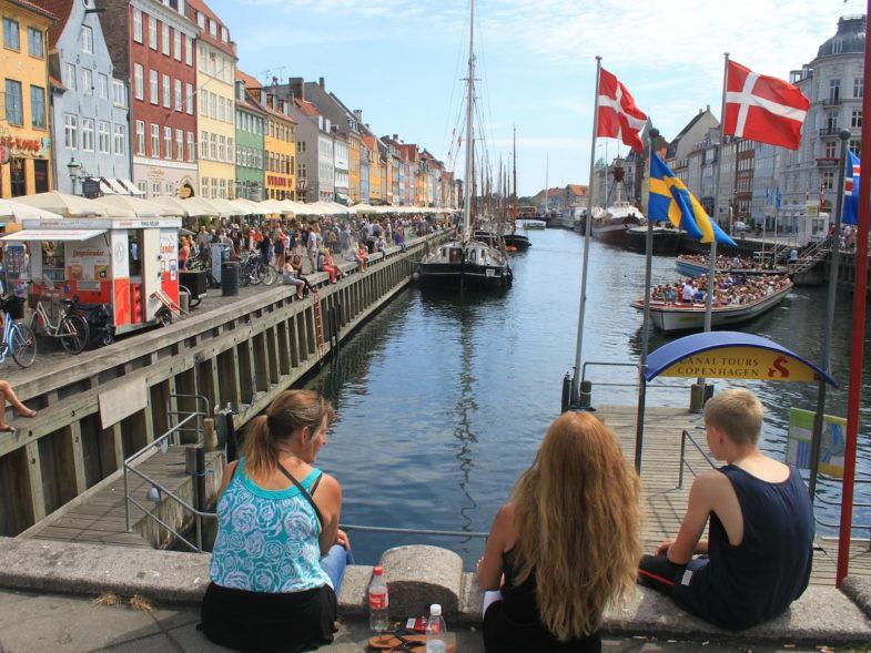 Le port de Copenhague.