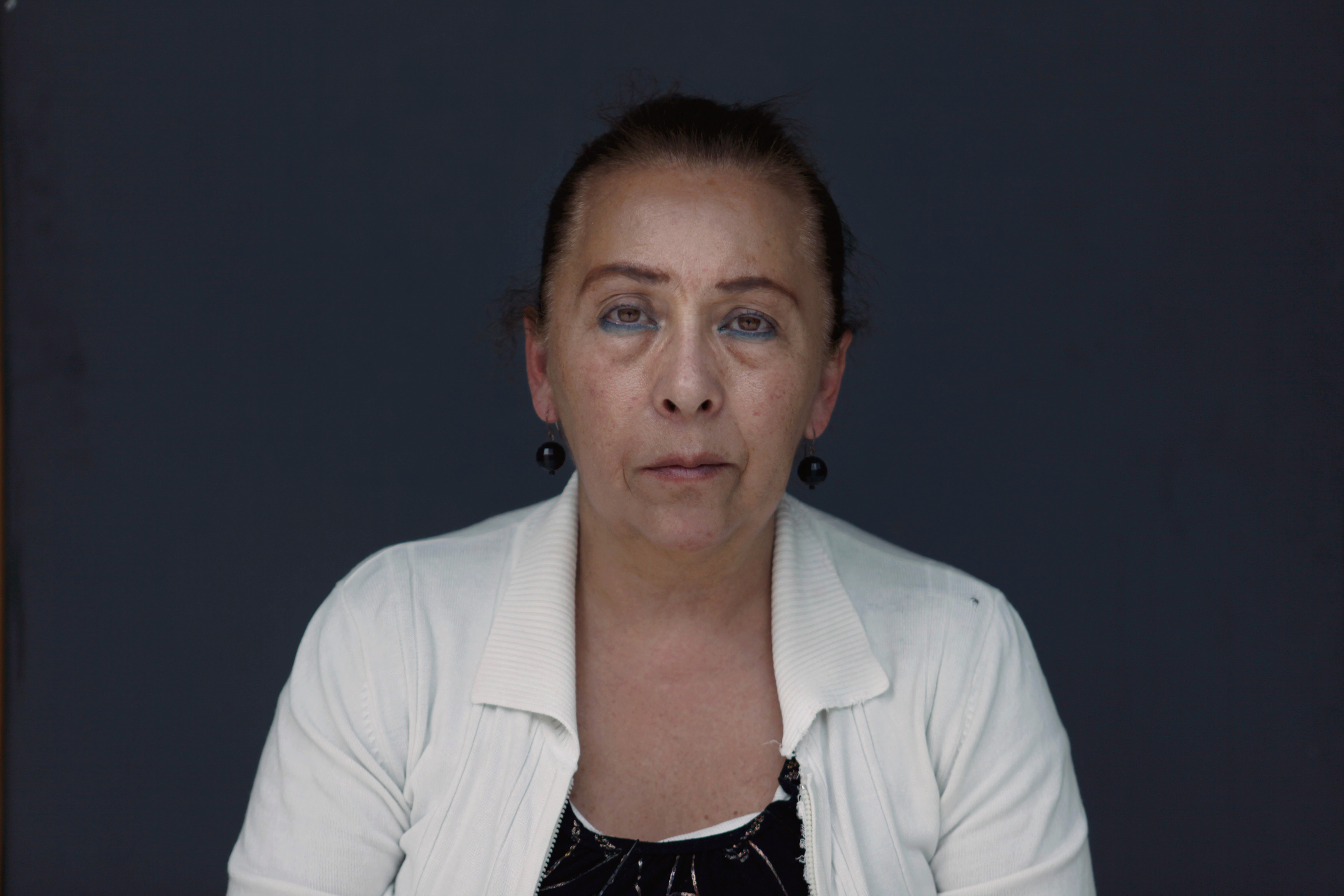 Laura, 60, a patient with Alzheimer's disease and vascular dementia, and former computer programming and psychology student.