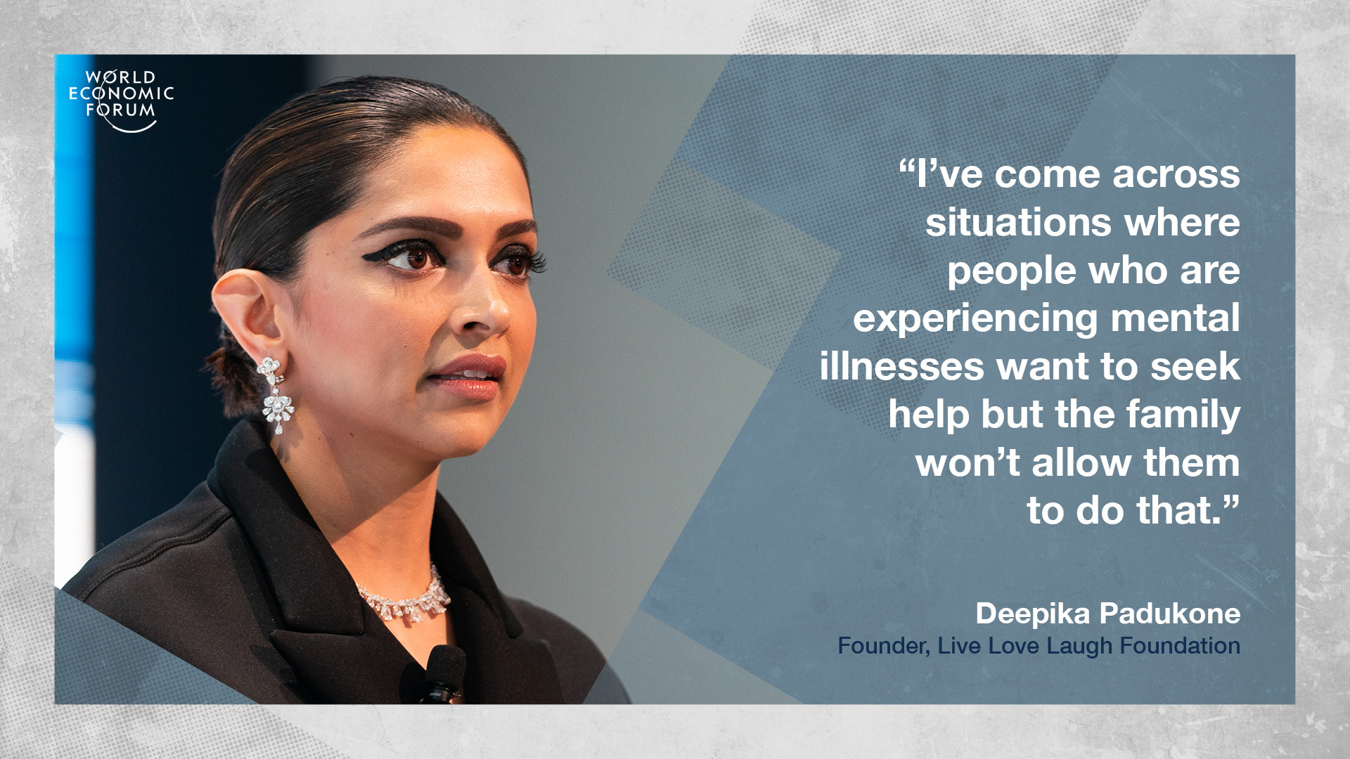 Deepika Padukone on stigma around seeking help for mental health