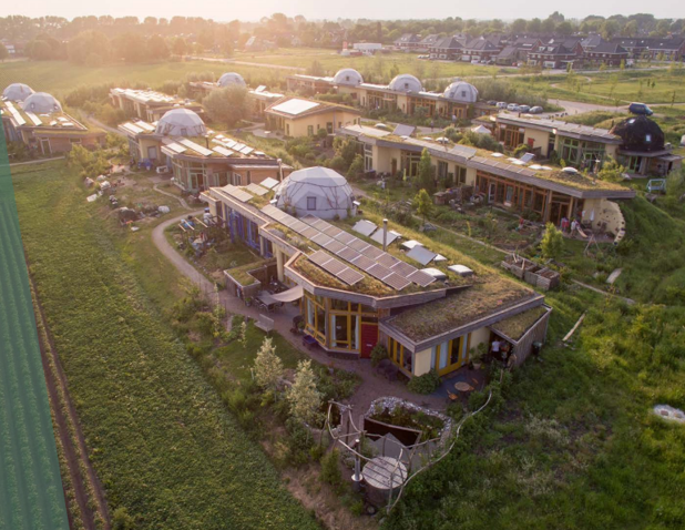 This 23-house rural community is powered by a decentralized energy network