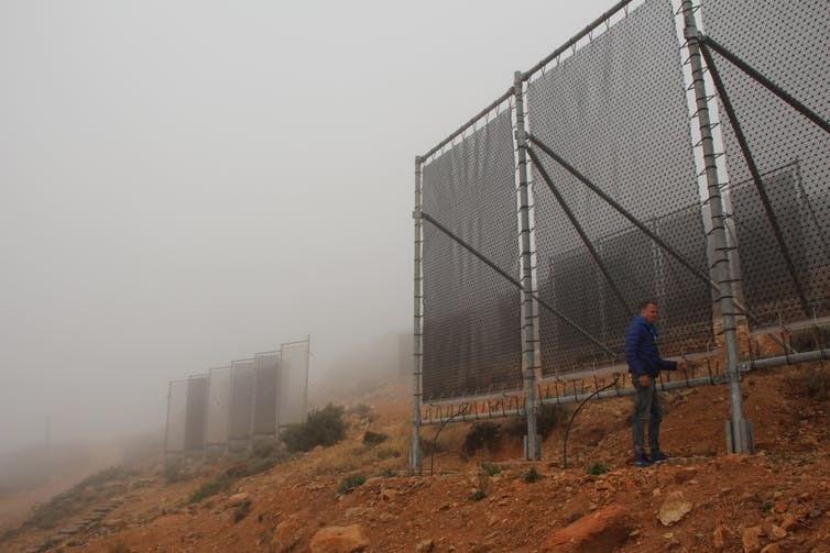 Fog water scarcity sustainability