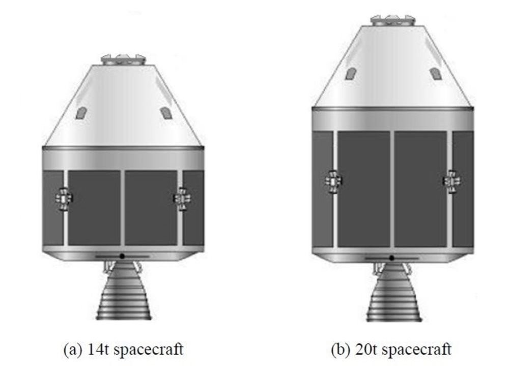 An illustration of China's New Generation Manned Spacecraft.