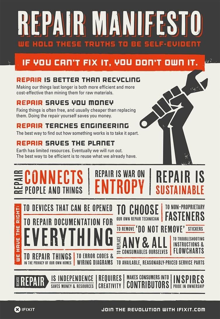 The Repair Manifesto.