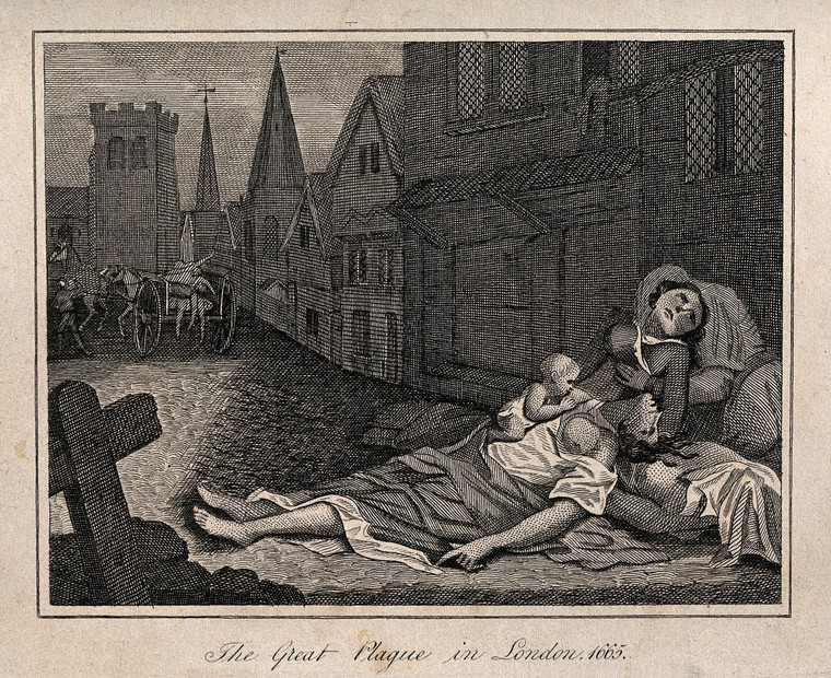One-fifth of London's population perished in the plague of 1665.