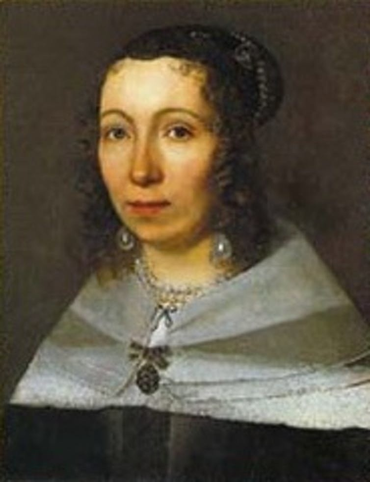 In Surinam with her daughterA 17th-century portrait of Maria Sibylla Merian by an unknown artist.