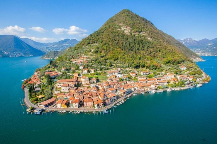 Monte Isola, Italie