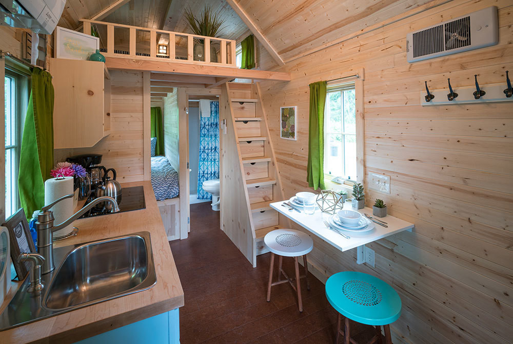 Tumbleweed Tiny House RV Kitchens