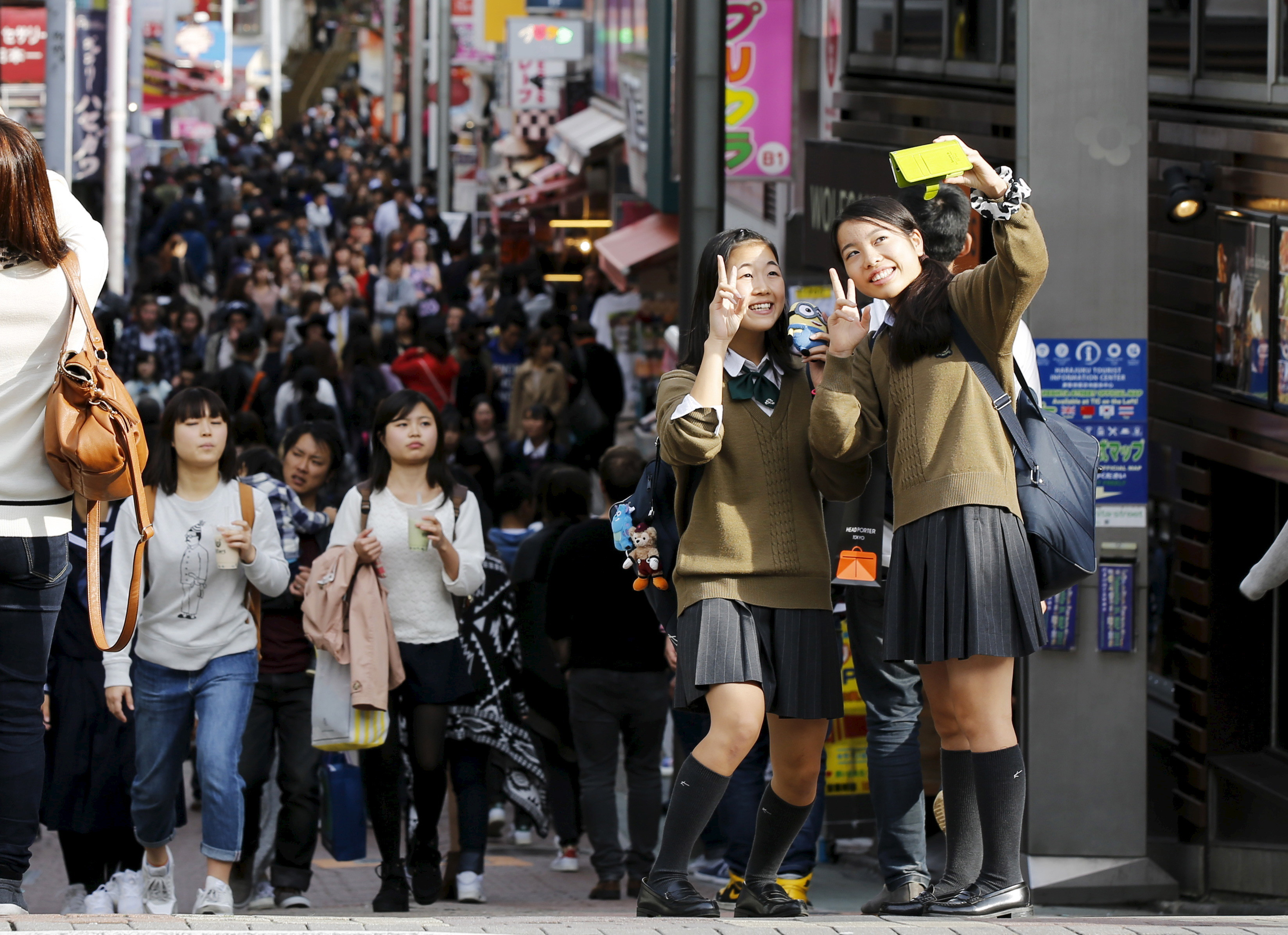 Parity in education and health … but not employment: Tokyo, Japan.