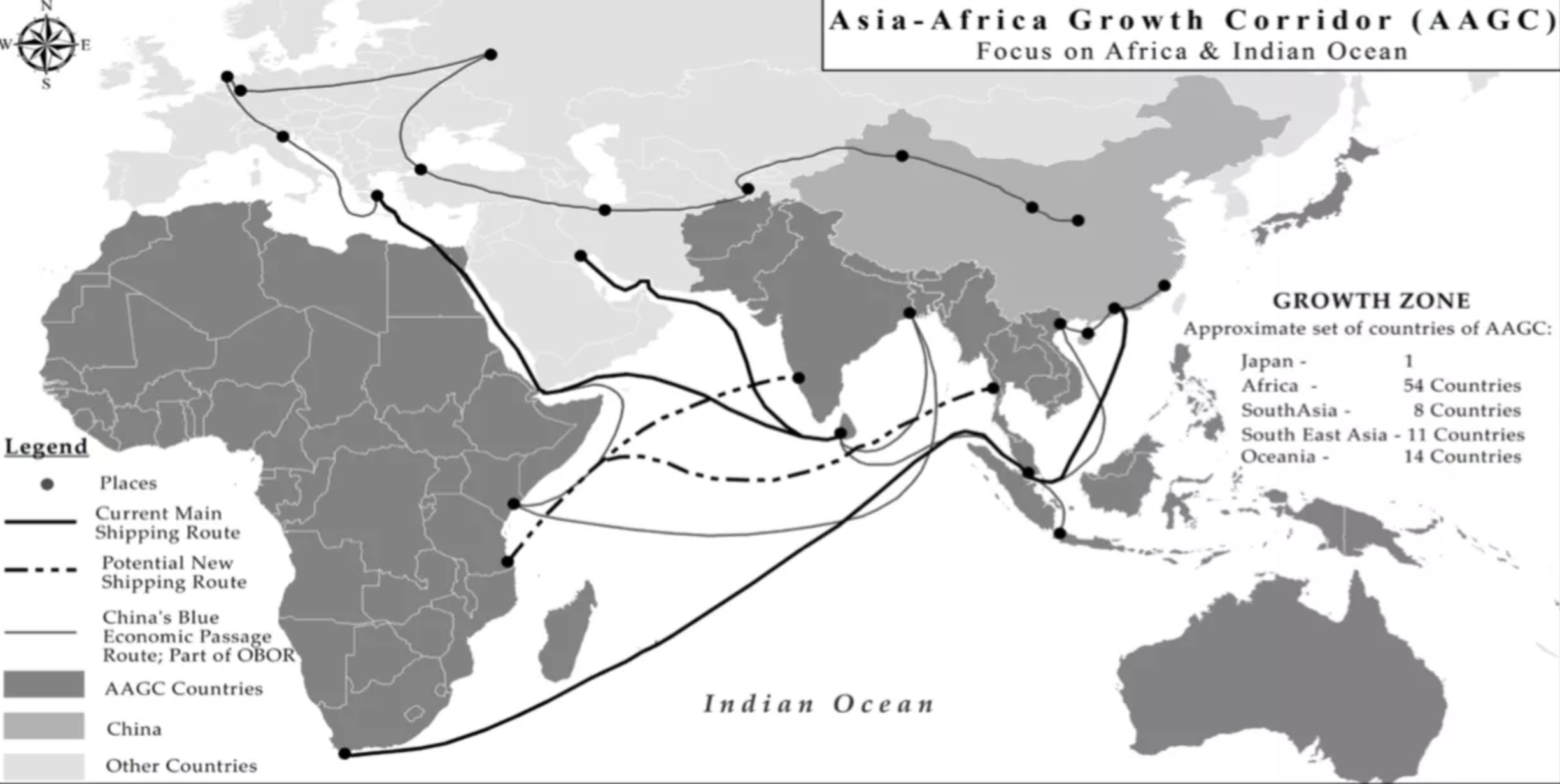 Map Of Asia Japan And China.The Challenge To China S New Silk Road World Economic Forum