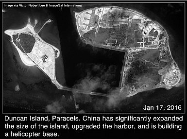 Duncan Island, Paracels, South China Sea