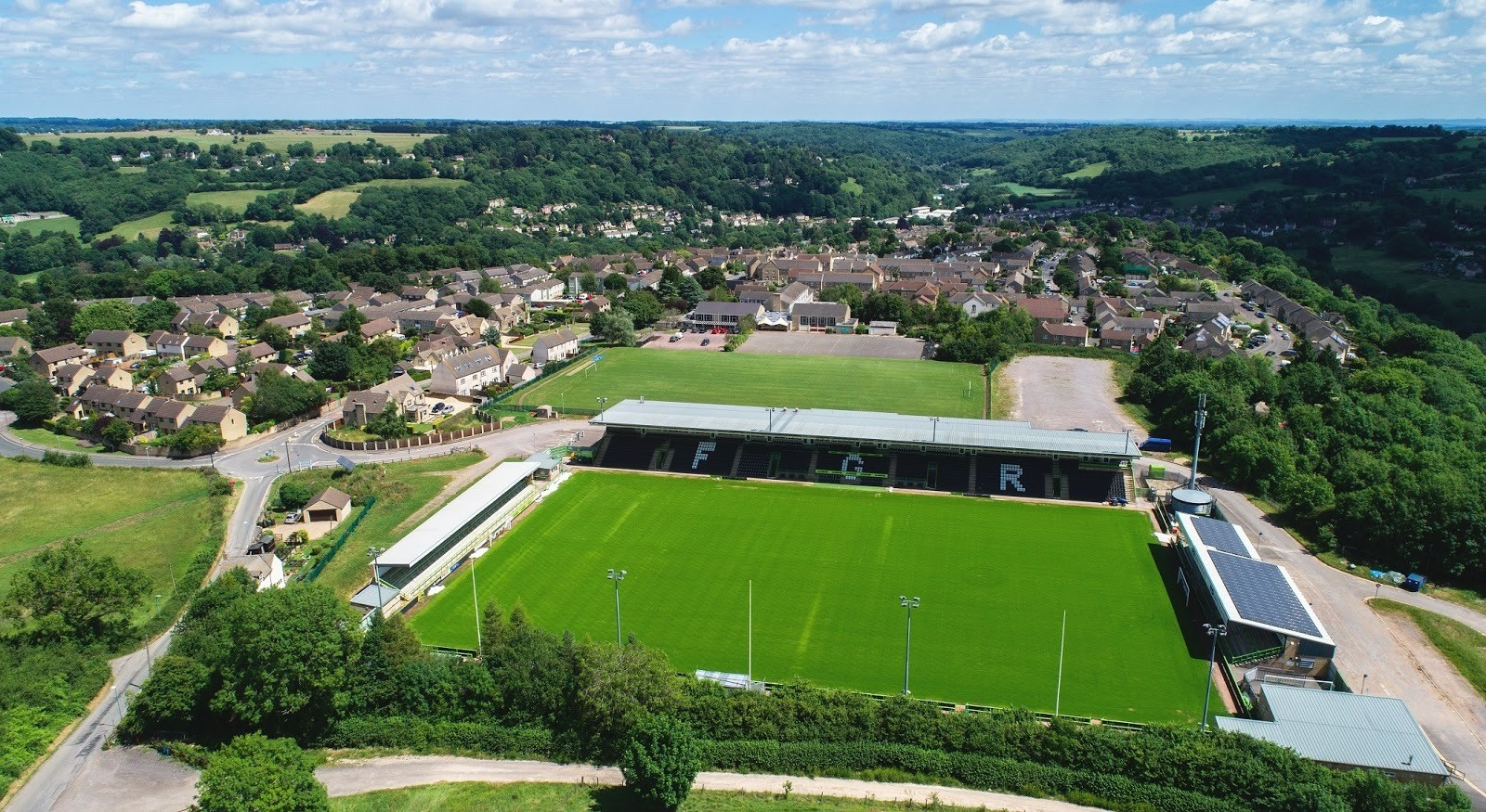 The Forest Green Rovers stadium, The New Lawn