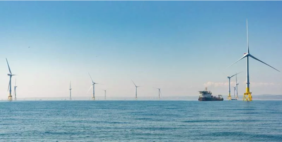 The European Offshore Wind Deployment Centre.