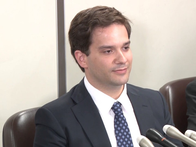 Mark Karpeles, ancien CEO de Mt Gox, en faillite après le piratage de 2014.