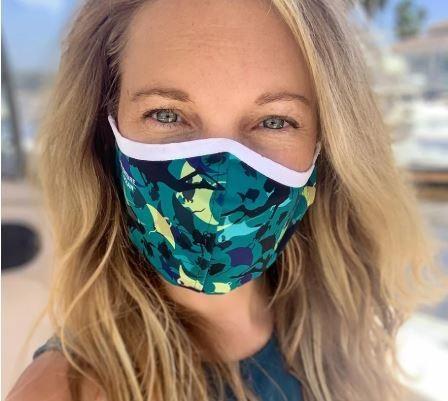 Manta Ray Recycled Plastic Cloth Face Mask
