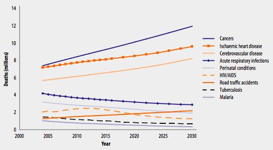 Charge mondiale de morbidité : Mise à jour 2004. Organisation mondiale de la santé