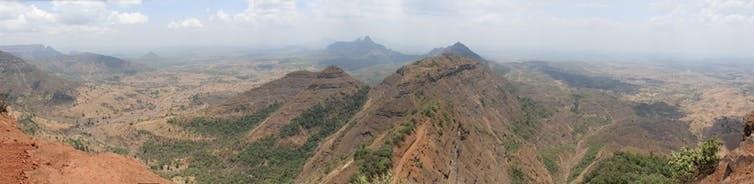 Maharashtra, India on May 28 2010, during the dry season.