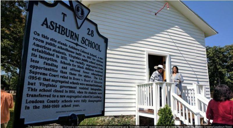The teenagers vandalised the historic Ashburn School.