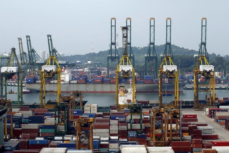A general view of PSA International's Tanjong Pagar container terminal in Singapore July 7, 2015.