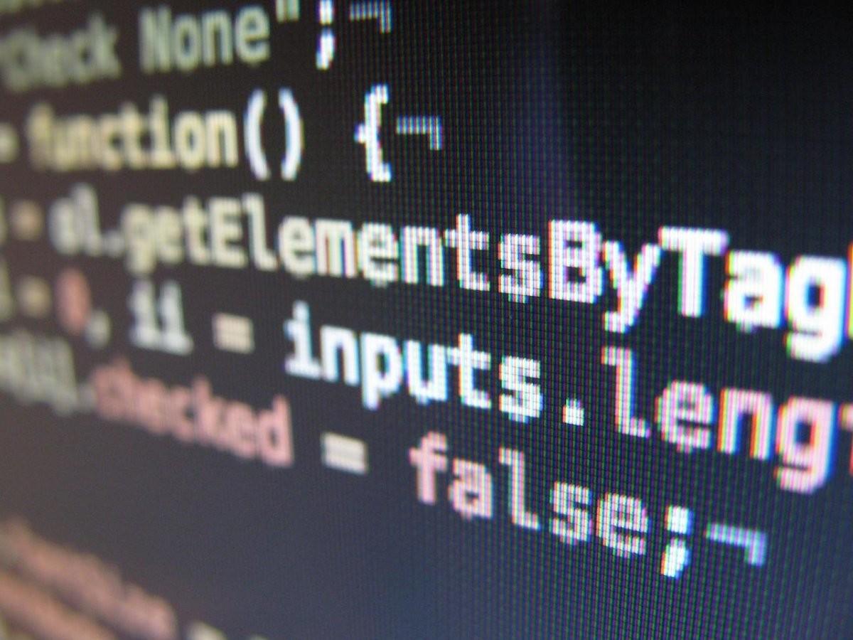 A little JavaScript code.