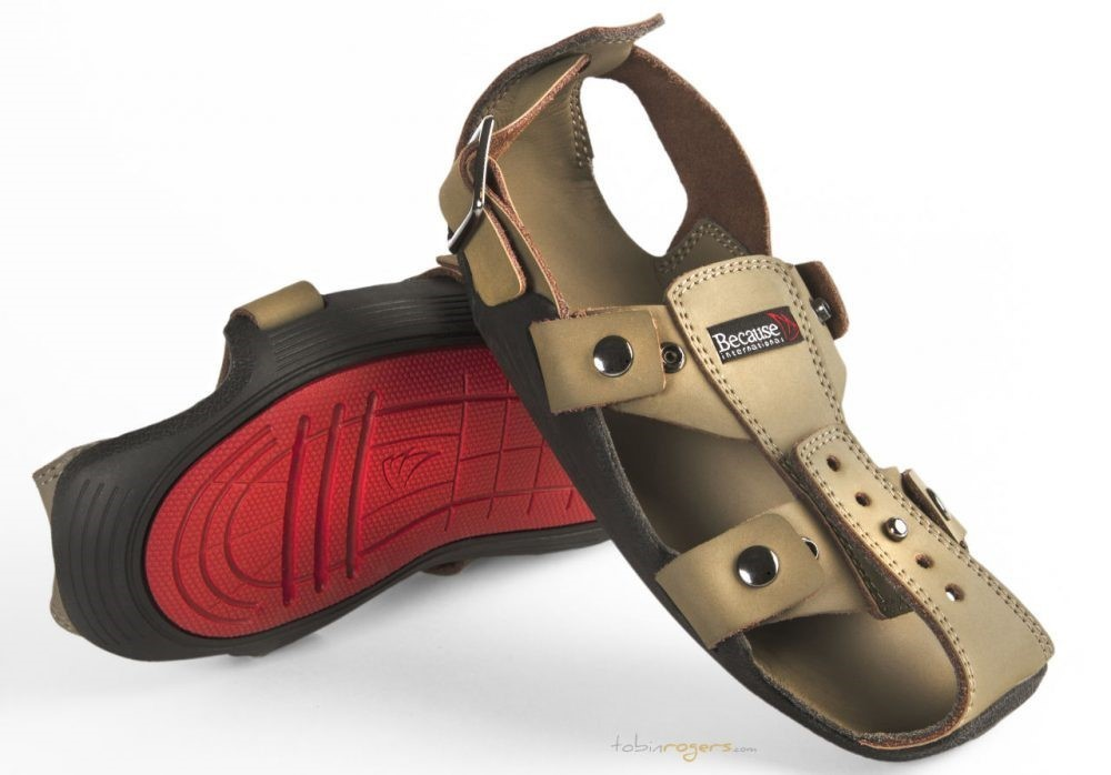 The Shoe That Grows can expand by five sizes and is designed to last for years.