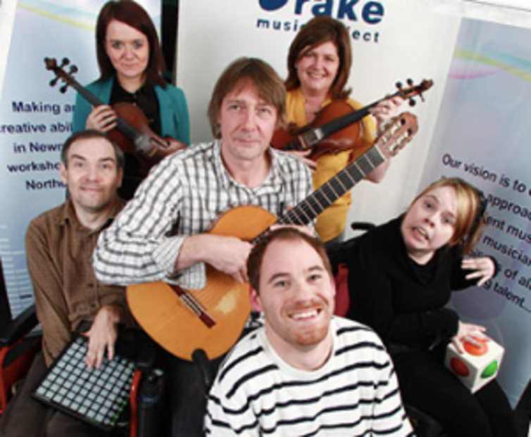 Drake Music NI, a charity that helps people with disability perform their own music.