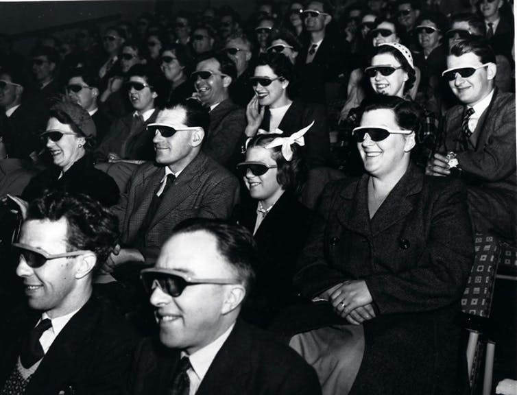 People love to come together as a movie audience.