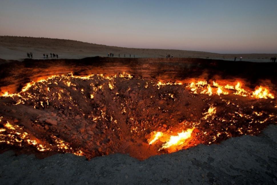 The 'Door to Hell', Derweze, Turkmenistan.