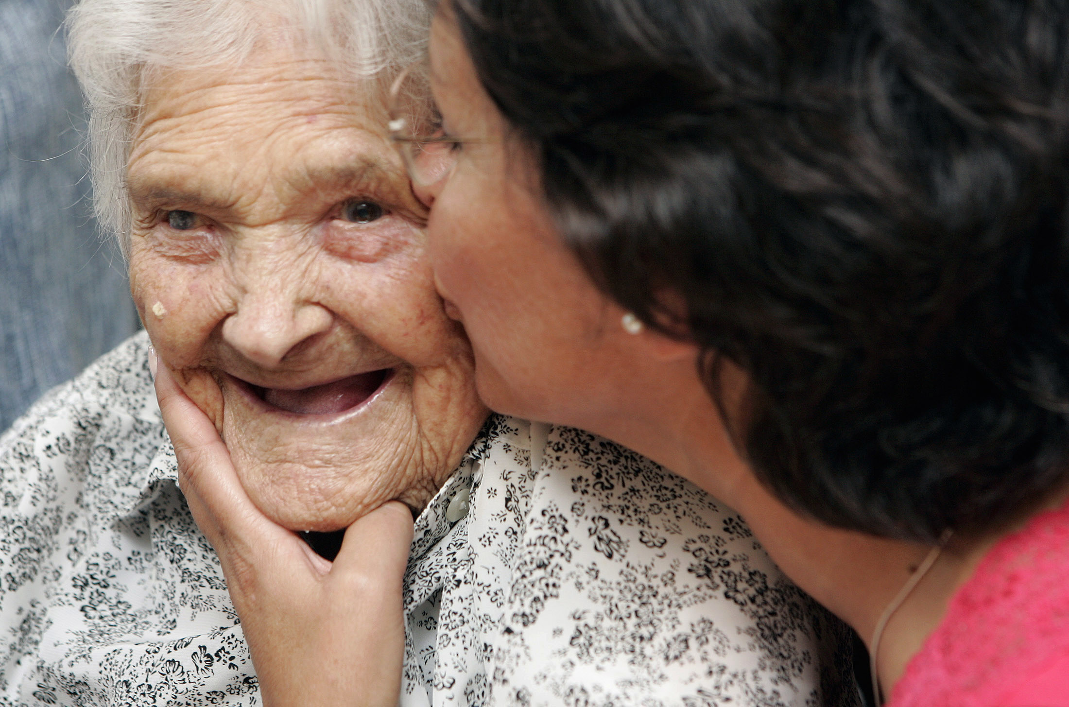 caring for the old and aging