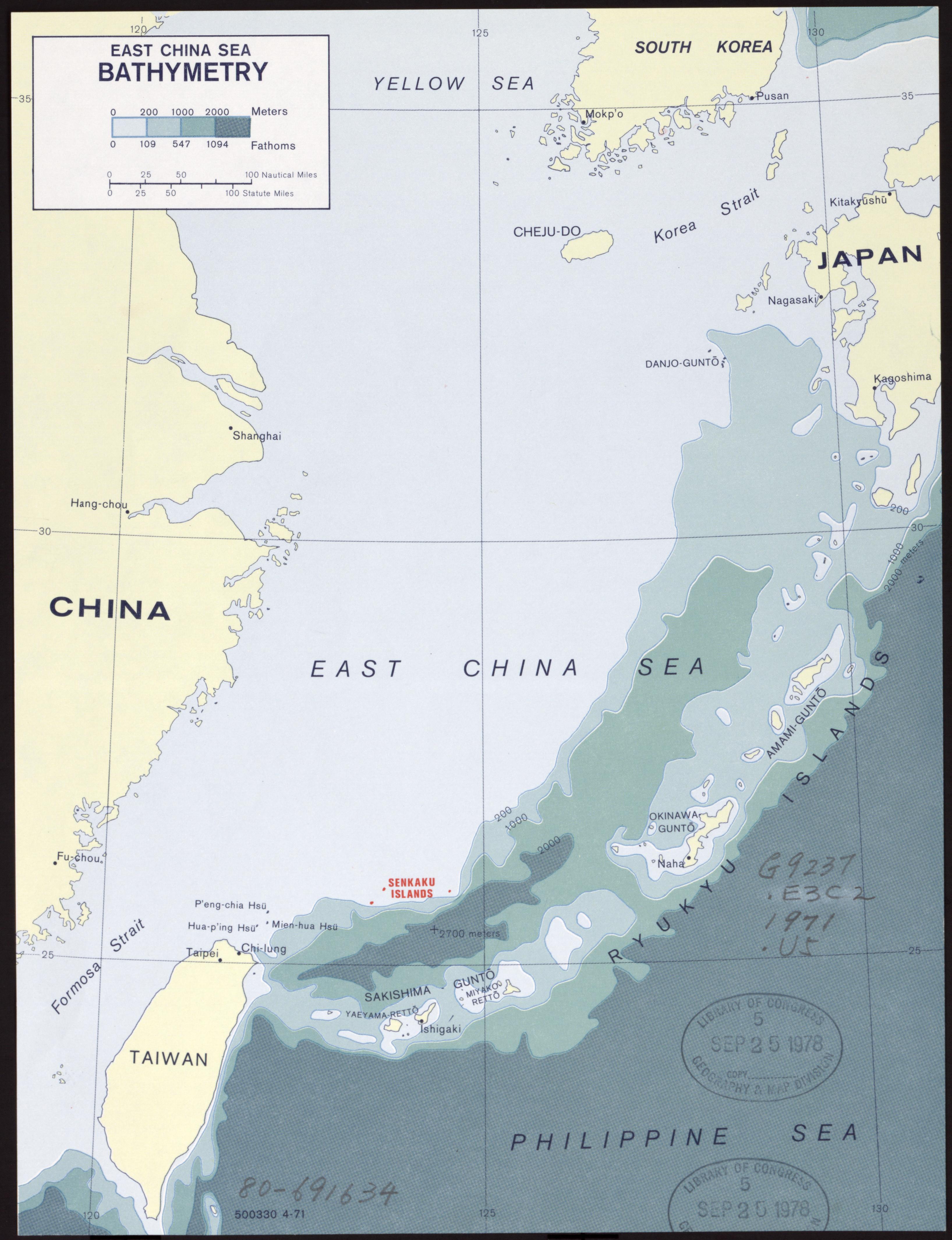 South China Sea depth