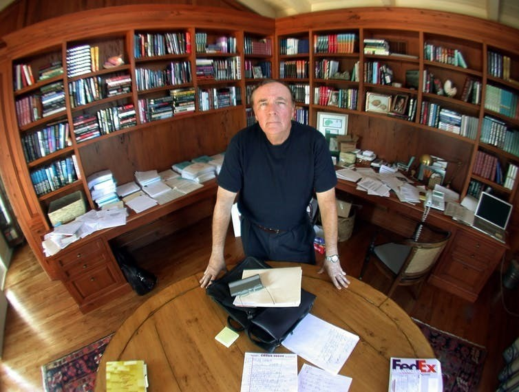 James Patterson has sold over 100 million copies of his book, grossing more than US$1 billion in sales.