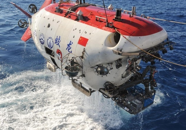The Jiaolong submersible
