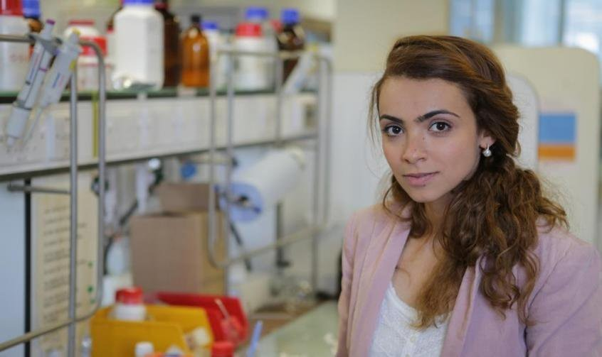Enass Abo-Hamed, a World Economic Forum Young Scientist