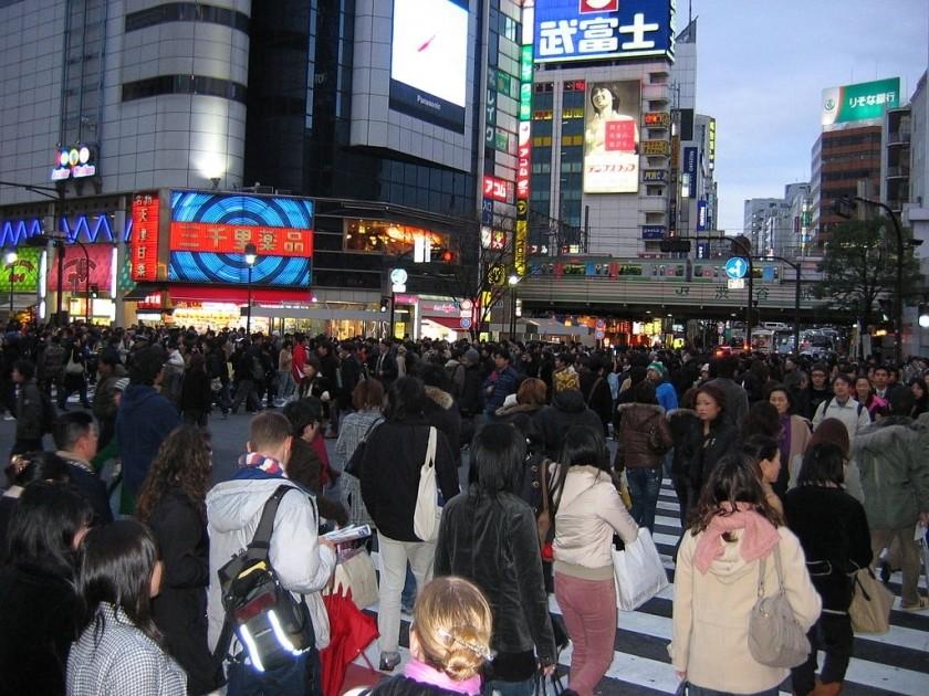Le Japon, pays bien portant, à la croissance nulle ou presque.