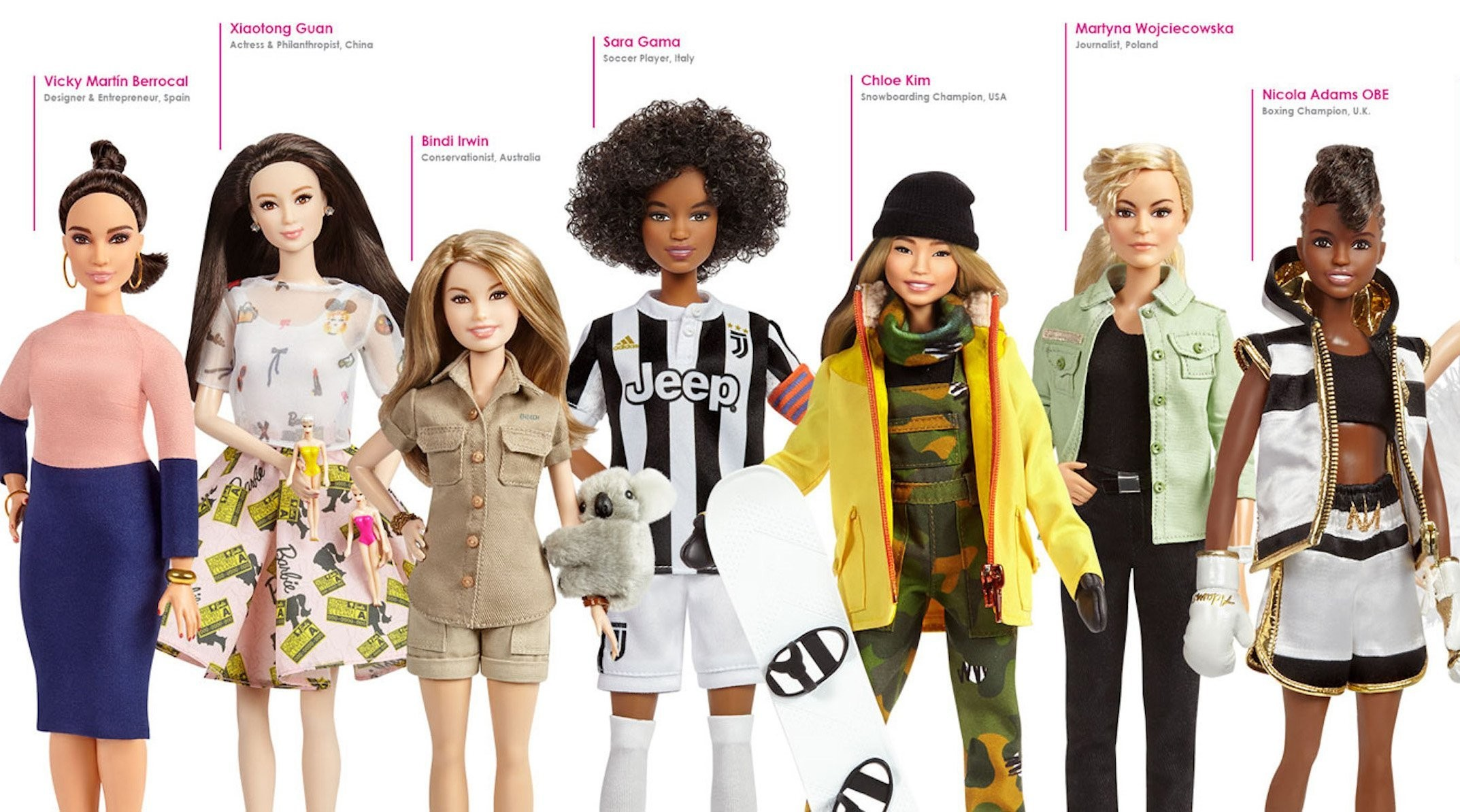 Theres A New Range Of Barbie Dolls That Celebrate Female Icons