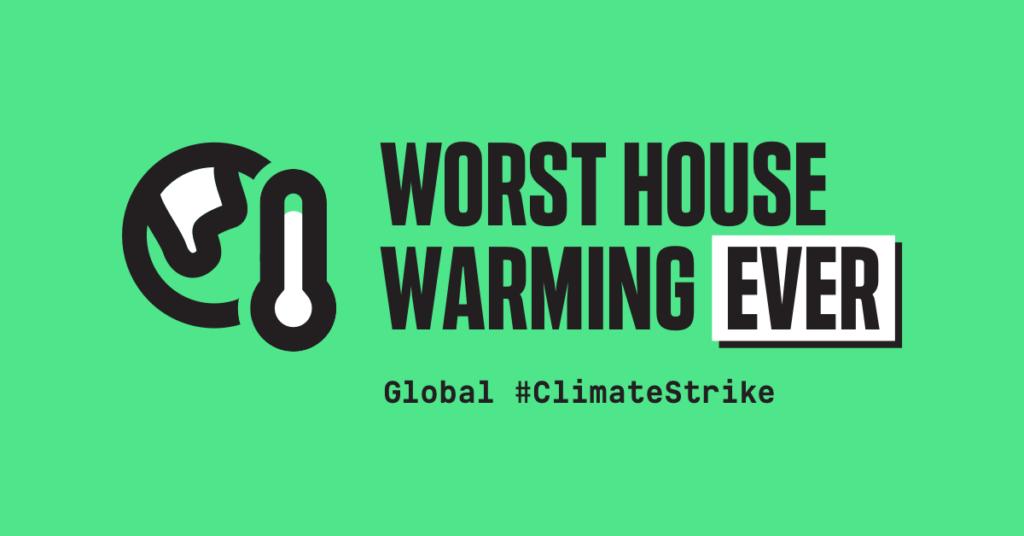 디지털 #ClimateStrike의 일부로 온라인에서 공유되는 이미지