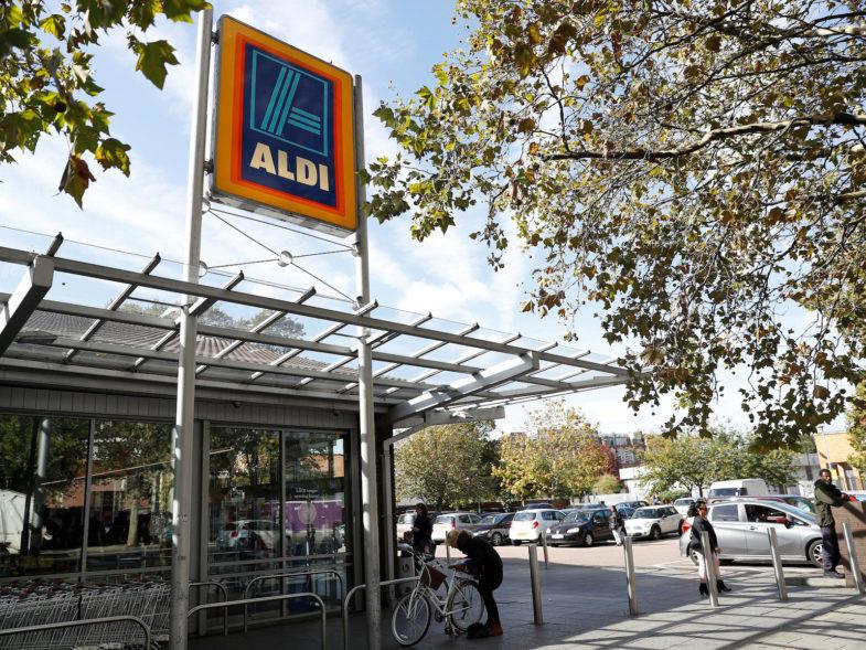 Supermarché Aldi à Londres, Grande-Bretagne. REUTERS/Peter Nicholls