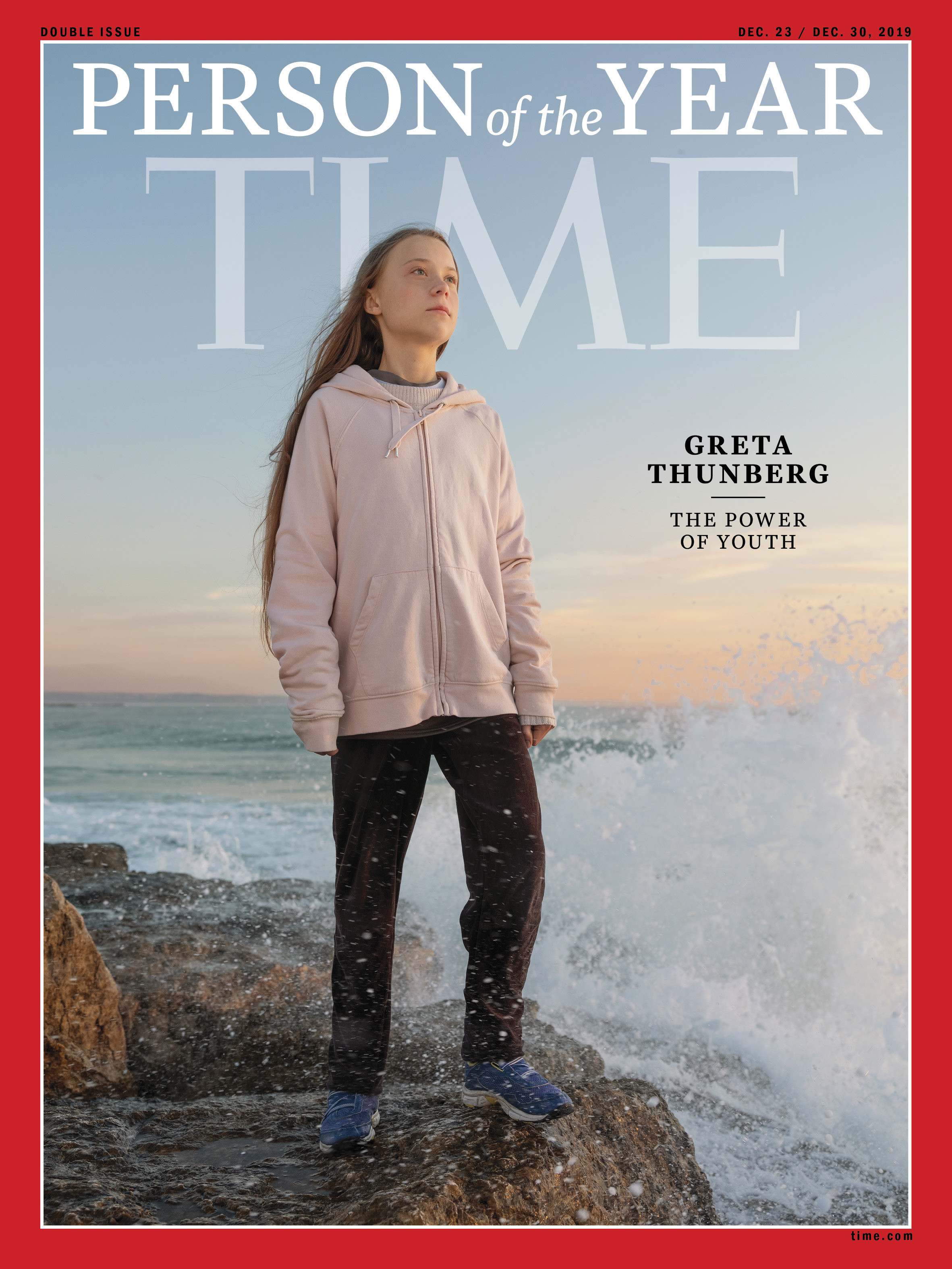 Greta Thunberg climate change TIME Person of the Year