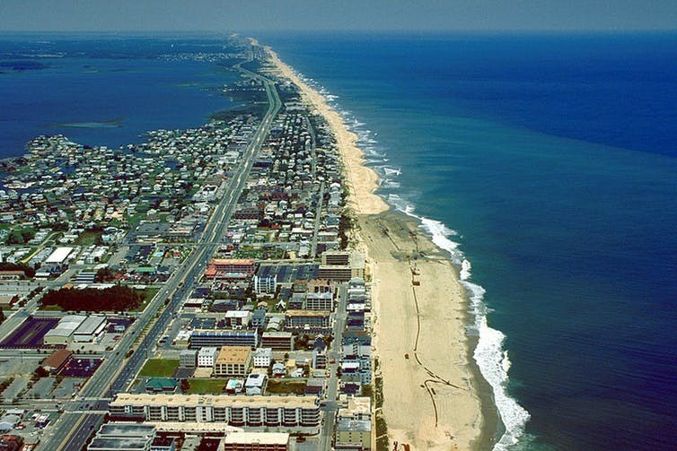 Barrier Islands Protect Coastlines But They Are Also Vulnerable World Economic Forum