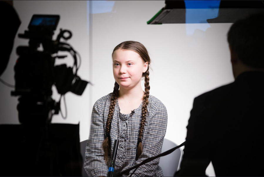 Greta Thunberg, Sweden at the Annual Meeting 2019 of the World Economic Forum in Davos, January 25, 2019