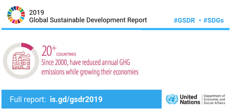 2019 Global Sustainable Development Report