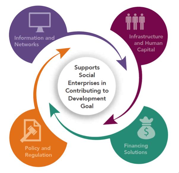 social enterprise ecosystems effectiveness scaling up