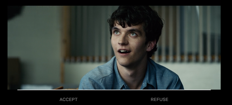 Time-bar in Bandersnatch: pick before the algorithm does it for you.