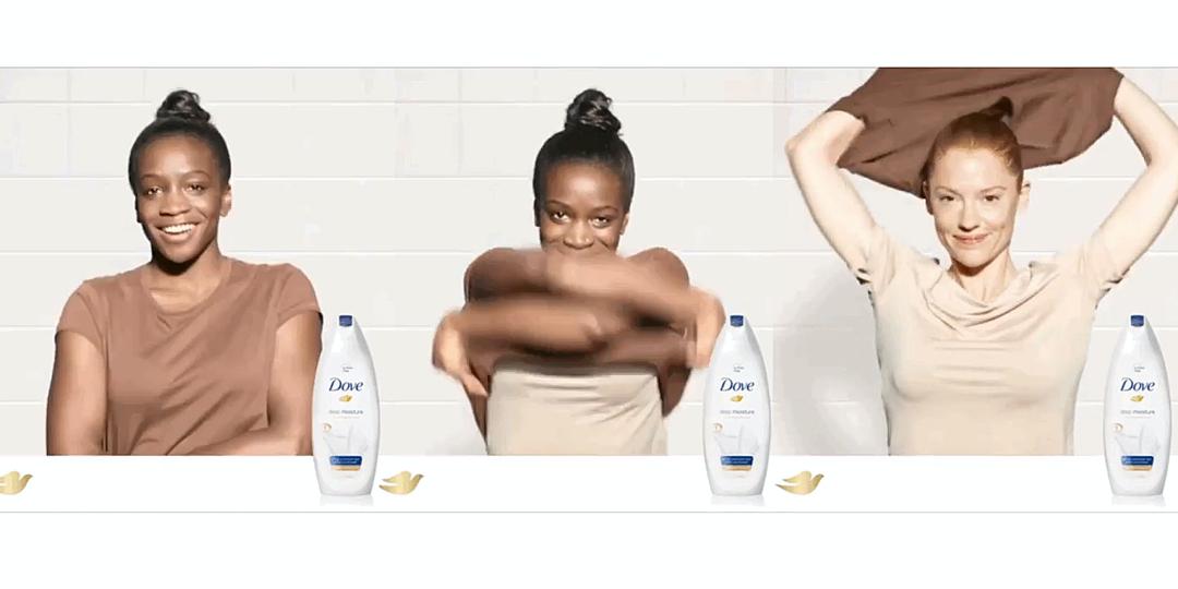 Unilever Dove ad race