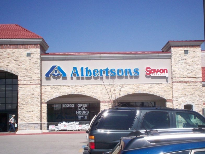Magasin Albertsons à Dallas, Etats-Unis.