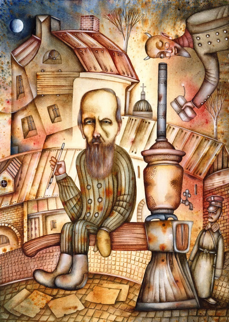 Fyodor Dostoyevsky: people are 'generally stupid'.