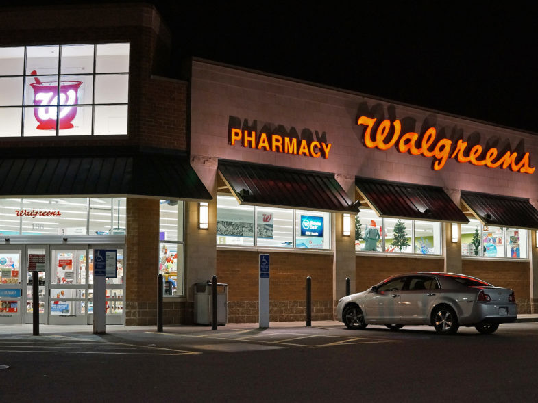 Walgreens à Saugus, Massachusetts, Etats-Unis.