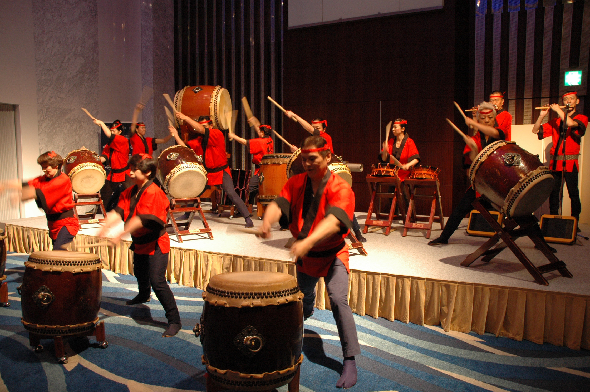 Traditional Drum Performance