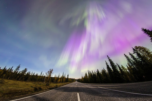The Aurora Borealis (Northern Lights) is seen over the sky near the village of Pallas (Muonio region) of Lapland, Finland September 8, 2017.  REUTERS/Alexander Kuznetsov/All About Lapland - RC124513CDB0