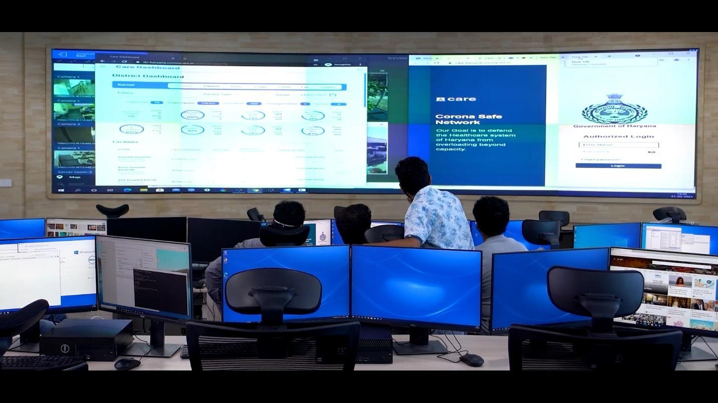 Remote Command Center for the Haryana Pilot Project